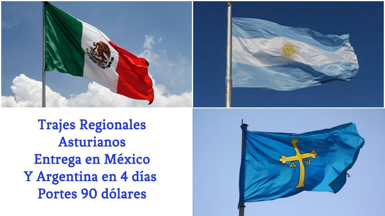 Traje Regional de Asturiano.